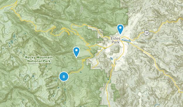 Estes Park Map