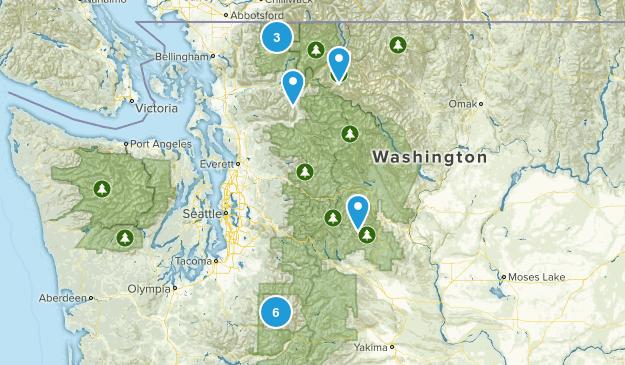 Cascades Roadtrip Map