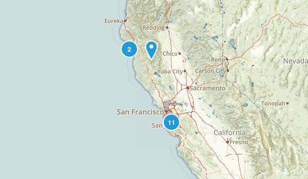 Woody Hike Map