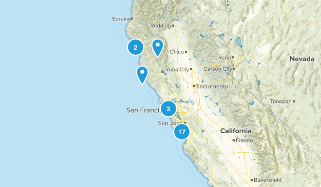Dog Friendly Hikes Map