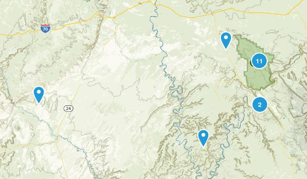 Moab trip Map