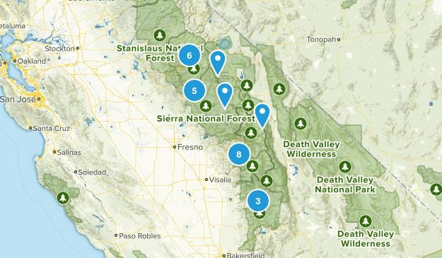 Fresno area Map