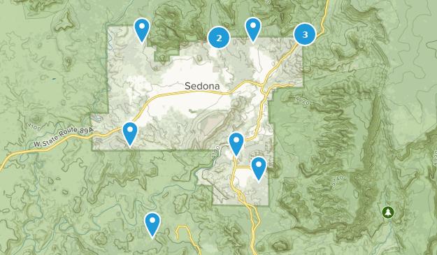 Sedona Map
