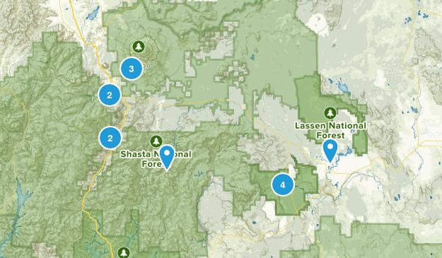 Mount Shasta Map
