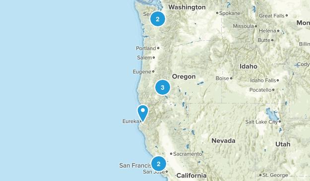 West Coast Trip Map