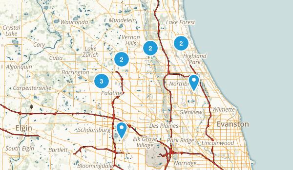 Wheeling Map