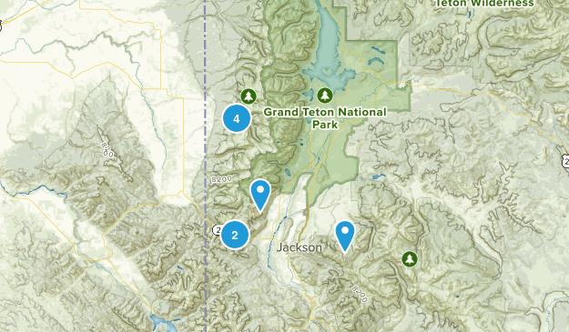 Teton Trip Map