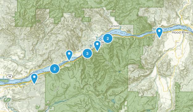Oregon Gorge Map
