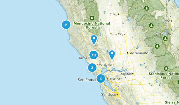 hikes to try Map
