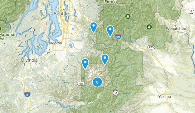 Mt Rainier Map