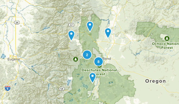 Want to hike - easy Map