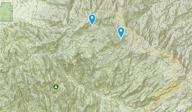 Mount Lemmon Map