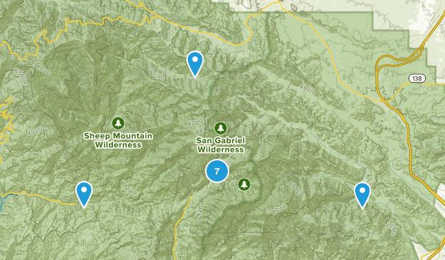 Mt Baldy Map