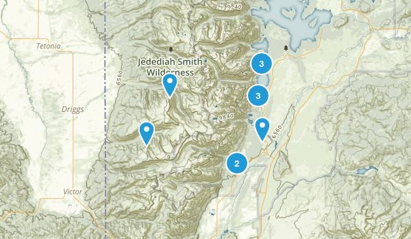 Tetons Map