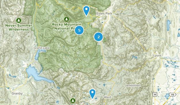 Estes Map