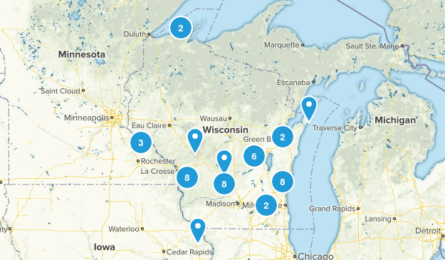 Wisconsin Trails Map