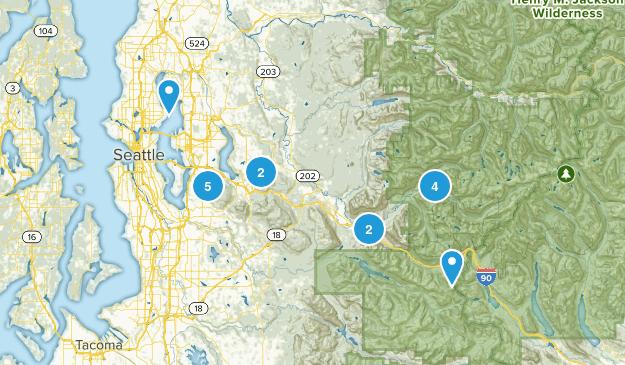 Around I-90 Map