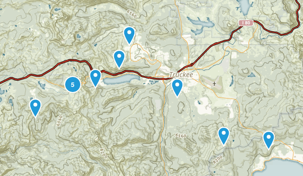 Cottonwood Creek Hikes Map