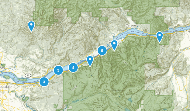Gorge trails Map