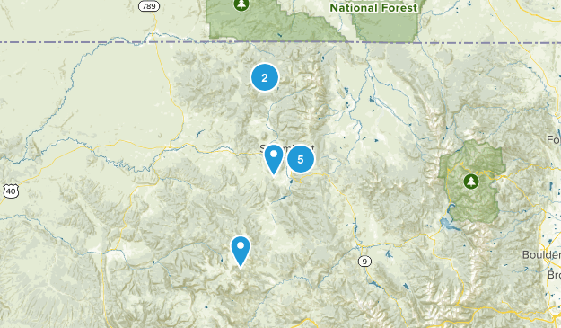 hikes to do near Steamboat Map