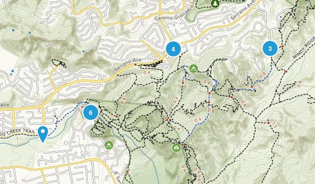 Santiago Oaks Map
