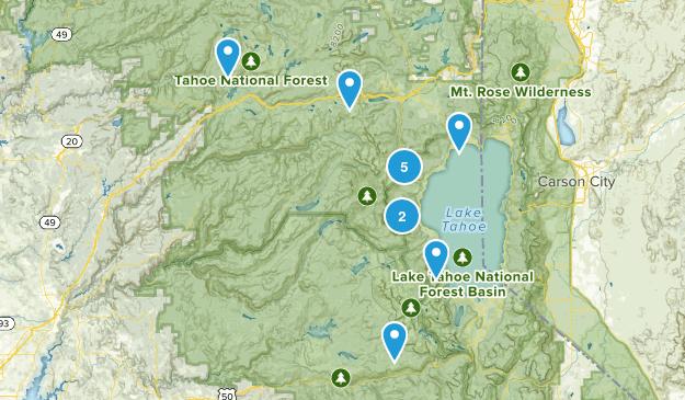 Lake Tahoe Vaca Map
