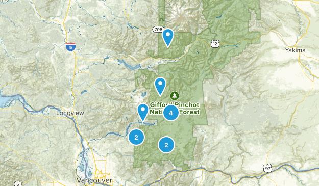 Gifford Pinchot Map