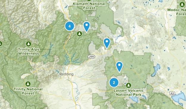 Shasta Lassen Map