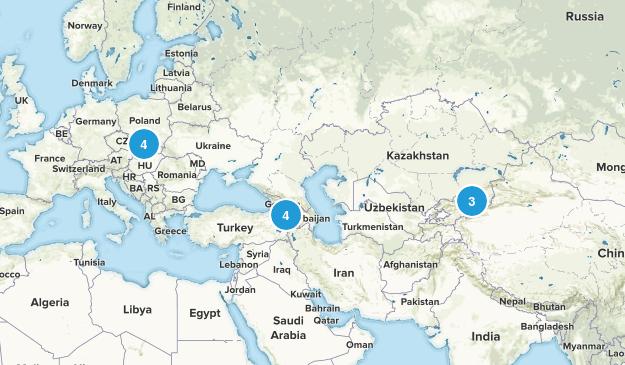armania/eastern europe. Map