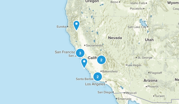 Dog Friendly Backpacking Map
