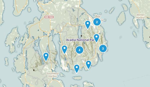 Acadia 2018 Map