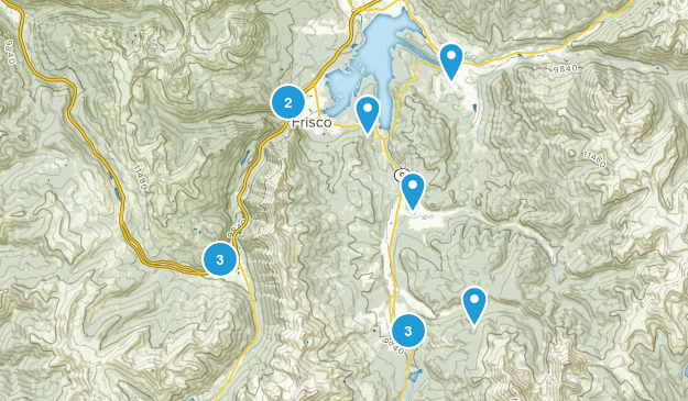 Summit Day Hike Map