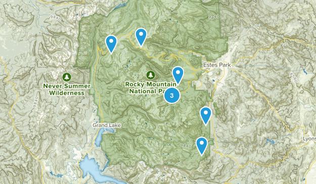 Rocky Mountain Map