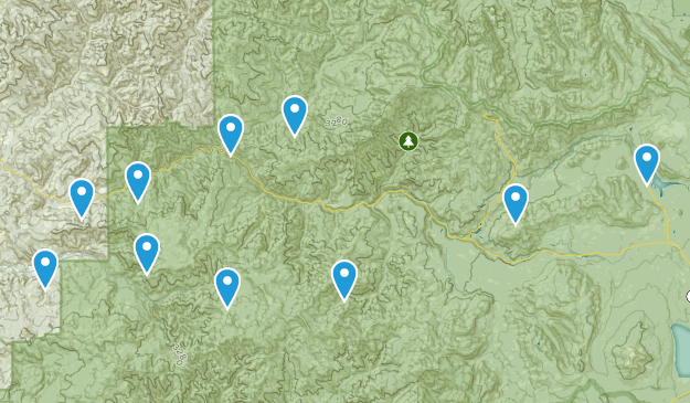 Canton Creek Map