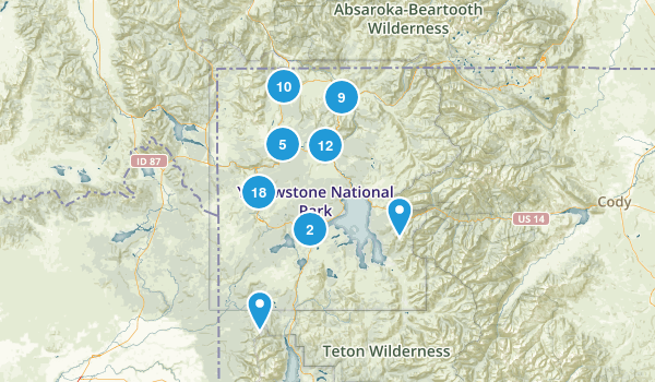 Yellowstone Map
