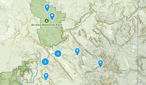 Moab Map