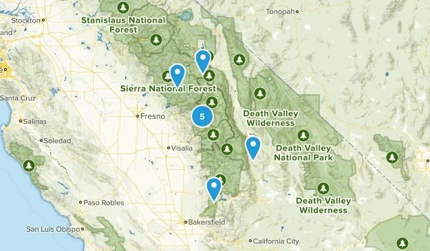 Sequoia Trails Map