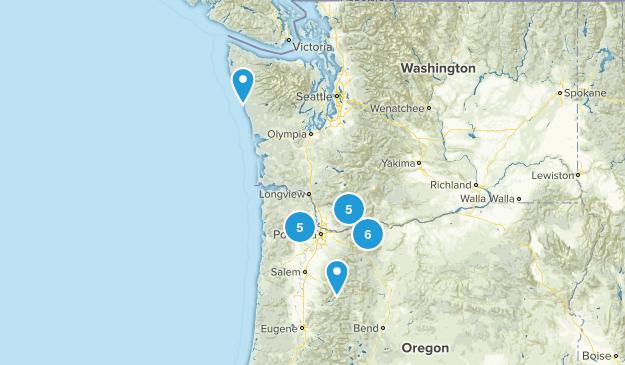 Upcoming Hikes Map