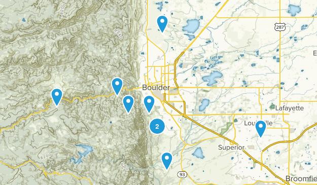 goal hiking Map