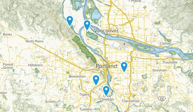 2019-20 Hike Club Map