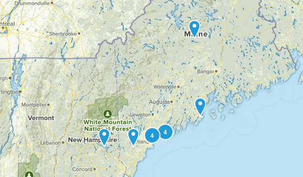 MAINE JULY 10 Map