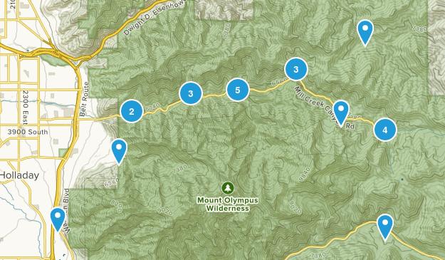 Millcreek Canyon Map