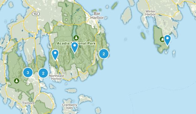 acadia w/ bonnie Map