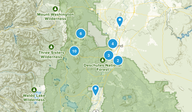 bend trails to complete Map