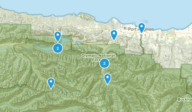 port angeles Map