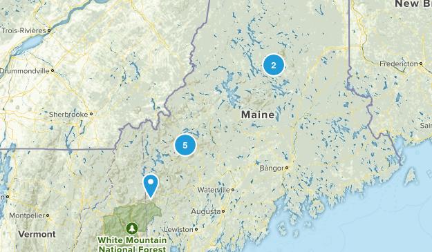 Maine 4k Map