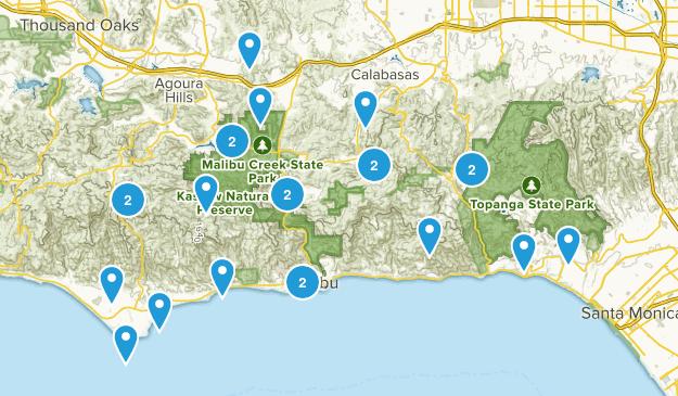 Santa Monica Mts NRA Map