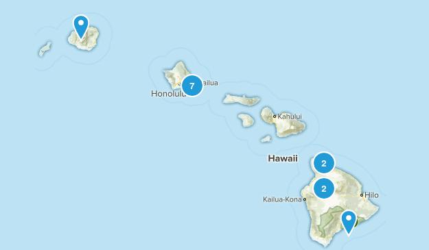 Hawaii To Do Map