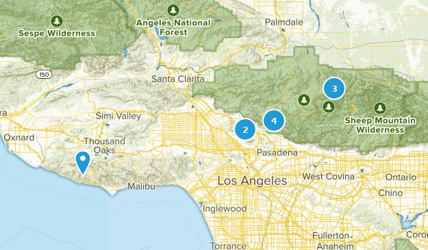hikes - medium Map