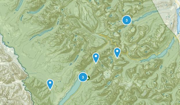 2018-08 Glacier National Park Map